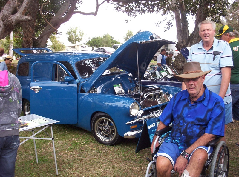Lyn and Geoff at Emu Park Car show