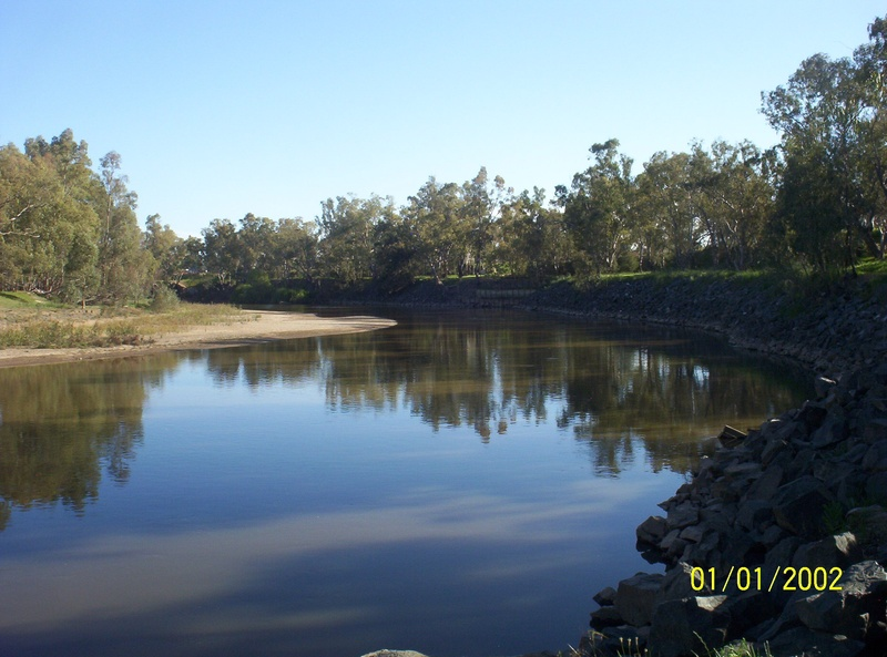 The river at Wagga